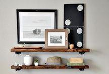 inspired • shelves / by McKenzie {Girl Loves Glam}