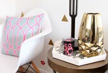 inspired • decor / by McKenzie {Girl Loves Glam}