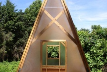 Tiny House / I am building a Tiny House as an office......  what wonderful inspiration there is to be inspired by... yet I am sure mine will be simple & clean looking when complete.    / by Laara Copley-Smith Garden Design