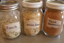 ~Sauces and Seasonings~ / by Susan Lutz