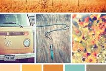 Turquoise & Tangerine Love  / by Rachel Burke