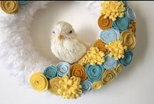 Spring & Summer / Easter and Spring decor, crafts, and activities! / by Brigitte Brown