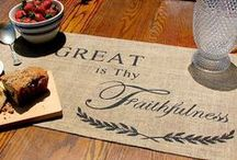 Fall Into Thanksgiving / Autumn/Thanksgiving decor, crafts, and activities! / by Brigitte Brown
