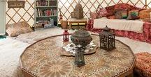 Interior Infatuation / Interiors we love - bohemian interior decoration and design, furniture, fabrics, gardens, and more!
