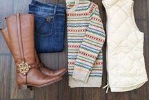 Sweater weather / Fall/ winter fashion / by Liz Racine