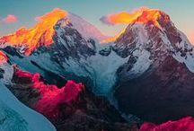 photo references - mountains