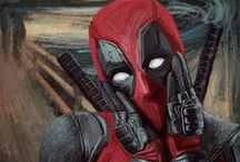 Deadpool / Hoping that Marvel's announcement of Deadpool's upcoming death scene is an April Fools joke. *crossing fingers*  My fave merc with a mouth, and fellow Torontonian, whoa. At least I'm pretty sure I read somewhere he's from Toronto... he's at least Canadian. Why do all the unkillable BAMF Canadian superheroes die young? #RIPWolverine