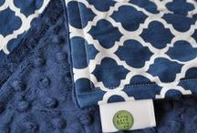 Navy Blue for Baby / Navy Blue is such a classic color for babies.  Cozy Wozy has plenty of options to fit any style!
