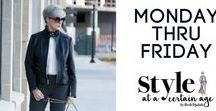 Style at a Certain Age | youtu.be / style and beauty tips on YouTube #beautyover50