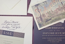 Stationary & Invite Love / by Toronto Events Co.