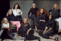 Fashion Crowd / Fashion´s big players and most influential celebrities.