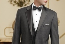 In Style: Grey Tuxedos & Suits / Grey Tuxedos and Suits are very popular, and here is our collection of mens formal wear that are available for rental in local stores across the country. For more information, visit www.MyTuxedoCatalog.com!