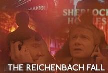 221B (The Reichenbach Fall) / by Farrah Fouquet