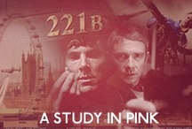 221B (A Study in Pink) / by Farrah Fouquet