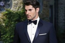 In Style - Blue Tuxedos & Suits / A collection of our tuxedos from Slate Blue to Midnight Blue!