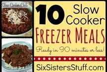 Crockpot Cooking / Fabulous crockpot / slow cooker recipes