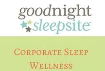 Corporate Sleep Wellness / It's a fact. A well-rested employee makes a more efficient and productive employee. An investment in getting your employees better rested will be one you won't regret. We can discuss both child and/or adult sleep and work towards total wellness for your entire staff.