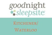 Good Night Sleep Site Kitchener/Waterloo / Welcome to Good Night Sleep Site Kitchener/Waterloo. We are here to provide you with emotional and educational support to help your family with their sleep needs. Our philosophy is that there isn't one program or method approach to sleep training. We don't choose one over another. Our goal is to work with you and set up a Sleep Plan that you are comfortable with to help your entire family unit become the well-rested family you deserve to be.