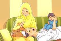 Rumahku Surgaku / Papan tentang Rumah Tangga Islami