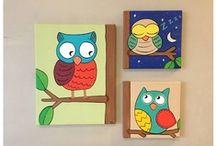 my paintings. / Custom artwork by me.