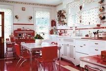 Berry Retro Kitchen / by Kelly Kautzmann