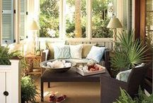 Patios & Porches / Here's a little outdoor living inspiration / by Fresh Produce