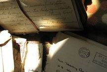 write a letter <3 / by Katie Huff