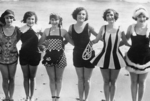 retro swim suits / by Ann Lombard