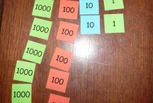 Math Ideas / by Missus Teach!