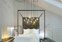 Bedrooms & relax / bedrooms and the space in between relax space