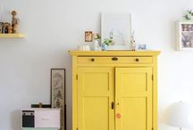 Yellow & etc / All reference to the color yellow and design for home and small spaces pined by design.etc