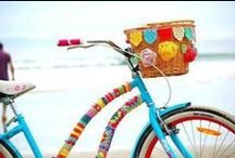 Bike & Beach Cruiser Decorations / You're never too old to decorate your bicycle like you did as a kid. Here are some fun ideas to jazz up your ride! / by Fresh Produce