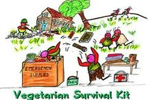 "Survival - Vegetarian Style / Also see board ""FOOD""..."
