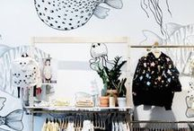 KIDSWEAR STORE INSPIRATION / In-store design inspiration for childrenswear stores.
