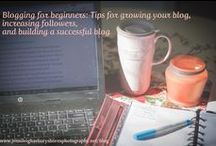 Blogging, does anybody read me? / Blogging: writing, promoting, sharing, growing