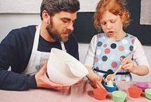 Kochen mit Kindern / Hier findest Du Rezepte und Inspirationen, mit denen man Kinder spielerisch an eine ausgewogene Ernährung heranführt. Denn wir finden Essen soll Spaß machen, schmecken und gut fürs Kind sein.