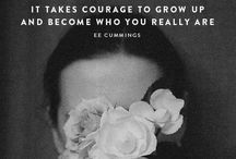A little inspiration! / Inspirational quotes / by Shannon Fowler