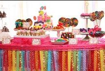 Rainbow Party Ideas / All the colors of the rainbow and then some can be found on our most cheery (and favorite) board!