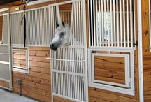 Integrity Series Horse Stalls / The Integrity Series is the ultimate component horse stall system. All grill sections and doors are solid welded, never any pieces to assemble. Constructed from heavy-duty galvanized steel tubing, the Integrity Series is available in any length. Mix and match door, feed or watering options to create the perfect horse stall.