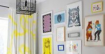 """Rock n' Roll Nursery Inspiration / Rock on! Project Nursery, The Honest Company, Zinc Door, Daily Candy, Hollywood Hot Moms, The Novogratz, Cupcake Mag and Who What Wear teamed up to collaborate on a """"Black & White Nursery"""" inspired pin board thanks to Honest's hip Skulls diaper design."""