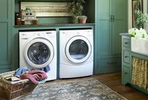Laundry Rooms / Organized laundry rooms and ideas for decorating a laundry room.