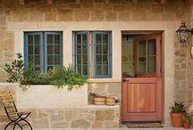 Dutch Doors / Beautiful Dutch doors. / by Darlene Schacht (TimeWarpWife.com)