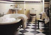 Bathrooms Ideas / Decorating and organizing ideas for bathrooms.  / by Darlene Schacht (TimeWarpWife.com)