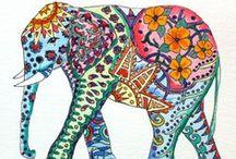 Elephants on parade / by jill cline