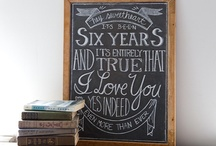 Chalkboard Art / Chalkboard art and quotes