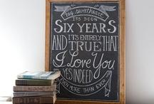 Chalkboard Art / Chalkboard art and quotes / by Darlene Schacht (TimeWarpWife.com)