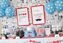 Little Man Party Ideas / Are you celebrating your little man? Here are some of our favorite party ideas for the popular theme.