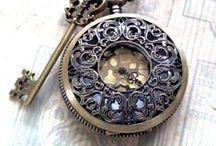 Clocks / by Darlene Schacht (TimeWarpWife.com)