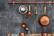 Copper Craze / Copper adds a warm, timeless feel to any decor – it's not too rustic or too glam. Commonly seen in French design, it's perfect for adding a graceful, minimal accent.  http://www.jillianastasia.com/copper-craze