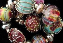 Beads Buttons and Baubles / Loose beads of all shapes and sizes that have caught my eye to create with... / by jill cline